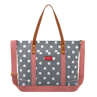 Button Spot Twill Premium Tote Nappy Bag by Cath Kidston