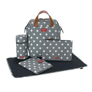 Backpack Nappy Bag Button Spot Twill - Cath Kidston