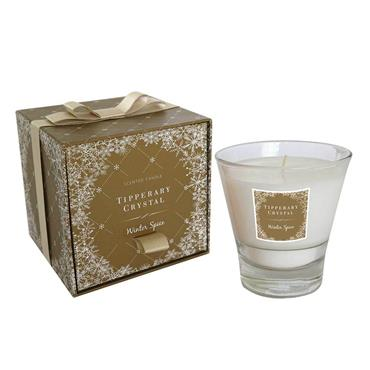 Winter Spice Candle Filled Tumbler by Tipperary Crystal