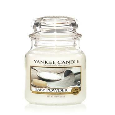 Yankee Candle - Baby Powder Medium Jar