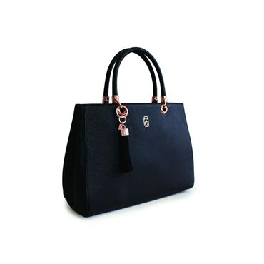 Tipperary Crystal Tote Milano Bag - Black