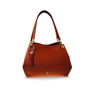 Tipperary Crystal Tote Sicily Bag - Tan