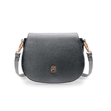 Tipperary Crystal Kensington Saddle Bag - Black