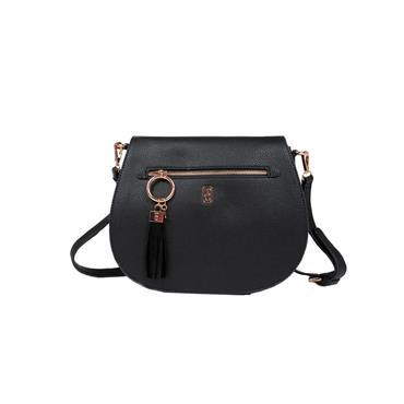 Tipperary Crystal Savoy Satchel Bag - Black