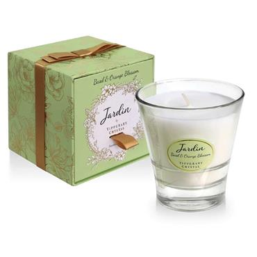 Basil & Orange Jardin Collection Candle by Tipperary Crystal