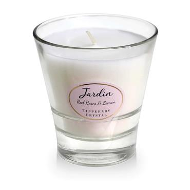 Red Roses & Lemon Candle by Tipperary Crystal