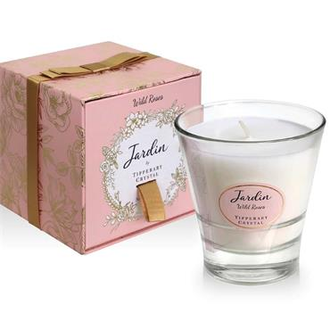 Wild Roses Candle Jardin Collection by Tipperary Crystal