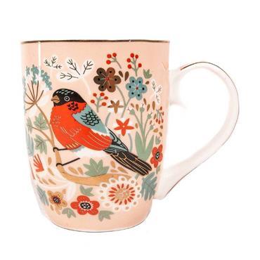Bullfinch Birdy Mug by Bailey & Brooke