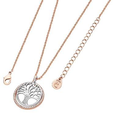 Floating Tree of life circle two tone