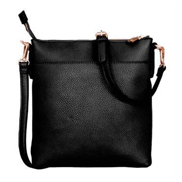 Chelsea Cross Body Bag - Black - Tipperary Crystal