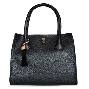 Shanghai Hand Bag Black - Tipperary Crystal