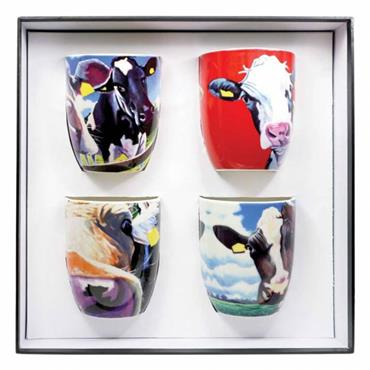 Eoin O'Connor Set of 4 Mugs