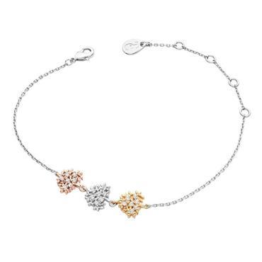 Three Trees bracelet three tone by Tipperary Crystal