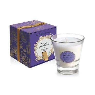 Tipperary Crystal - Fig & Blackcurrant Leaf Candle Filled Tumbler