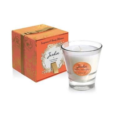 Tipperary Crystal - Tangerine & Honey Blossom Candle Filled Tumbler
