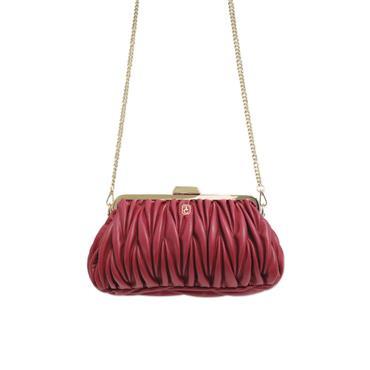 Tipperary Crystal - Marseilles Weave Bag - Burgundy