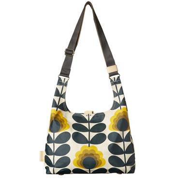 Orla Kiely Summer Flower Stem Midi Sling Bag - Sunshine