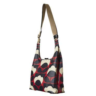 Orla Kiely Midi Sling Bag - Poppy