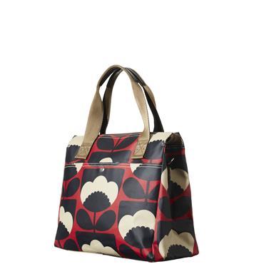 Orla Kiely Zip Messenger Bag - Poppy