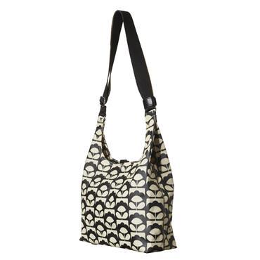 Orla Kiely Midi Sling Bag - Charcoal