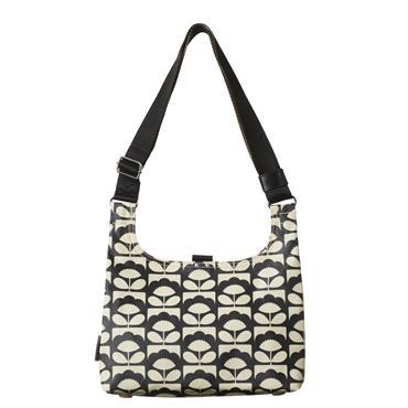 Orla Kiely Mini Sling Bag - Charcoal