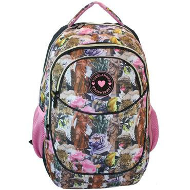 Freelander Girls Oval Pink Backpack