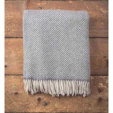 Foxford Oxford Giant Herrringbone Throw