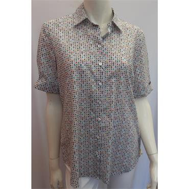 Erfo Butterfly 100% Cotton Blouse