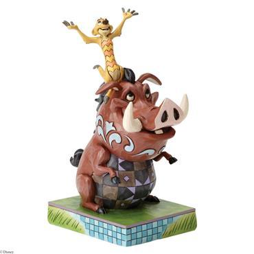 Carefree Cohorts (Timon & Pumbaa Figurine)