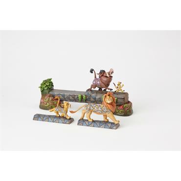 Carefree Camaraderie (Simba,Timon & Pumbaa Figurine)