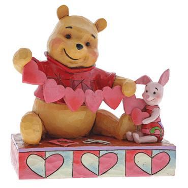 Handmaid Valentines (Pooh & Piglet Figurine)