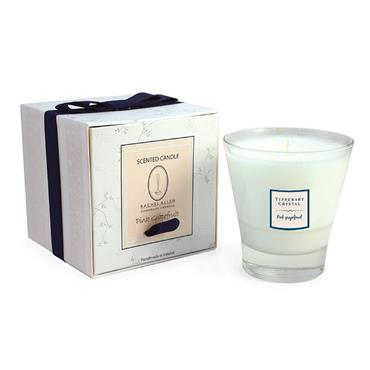 Tipperary Crystal Pink Grapefruit Tumbler Filled Candle