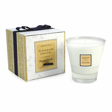 Tipperary Crystal Precious Woods Filled Tumbler Candle