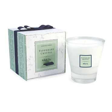Tipperary Crystal White Tea Filled Tumbler Candle
