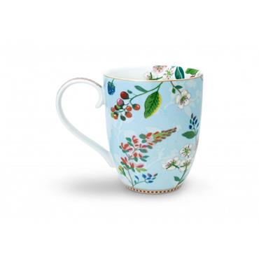 Pip Studio Floral Mug XL Hummingbirds Blue