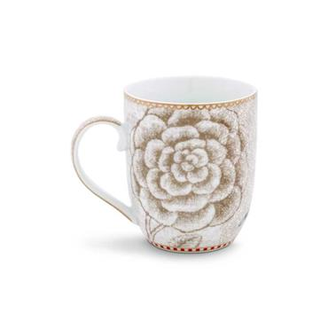 Pip Studio Spring to Life Mug Small White