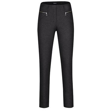 Robell Mimi Trousers - Dark Grey