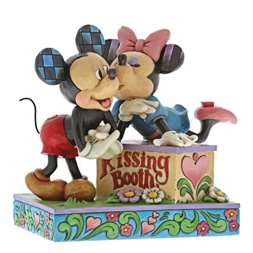 Kissing Booth (Mickey & Minnie Mouse Figurine)