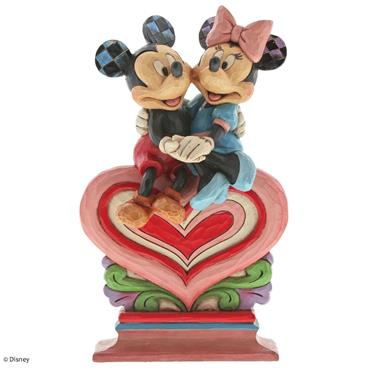 Heart to Heart (Mickey & Minnie Mouse Figurine)
