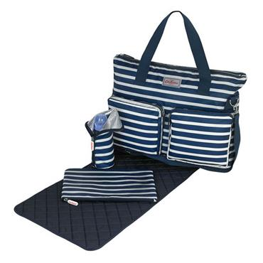 Breton Stripe Baby Nappy Changing Bag