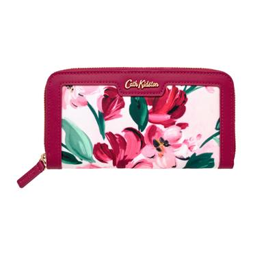 Cath Kidston Wallet - Paintbox Flowers Aster