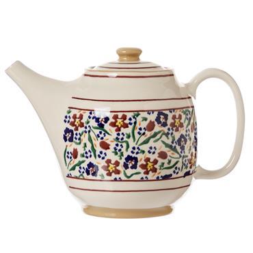 Wild Flower Meadow Teapot by Nicholas Mosse