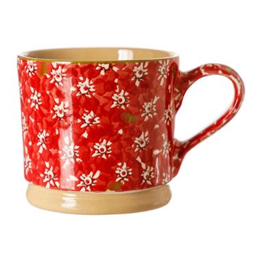 Large Nicholas Mosse Red Lawn Mug