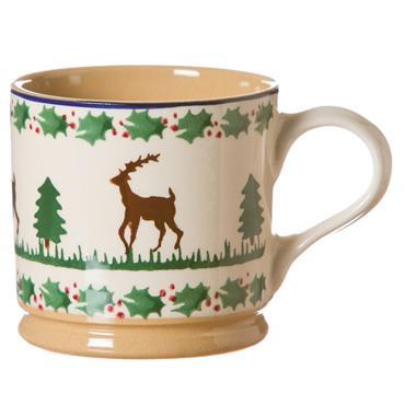 Nicholas Mosse Pottery Large Mug Reindeer