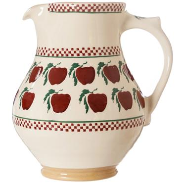Large Apple Jug by Nicholas Mosse Pottery