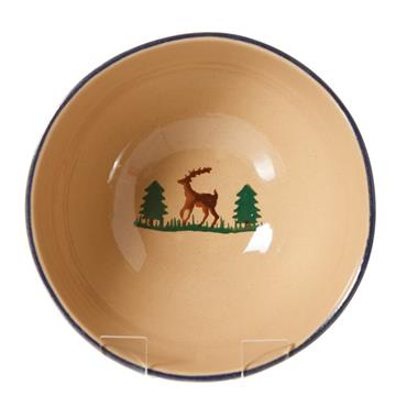 Nicholas Mosse Pottery Vegetable Bowl - Reindeer
