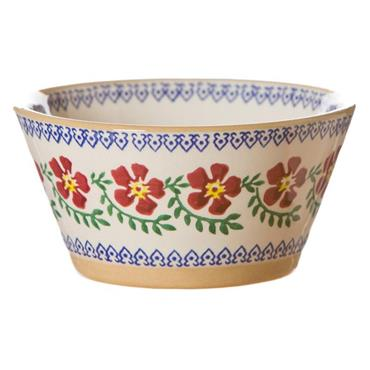 Small Angled Bowl Old Rose by Nicholas Mosse Pottery