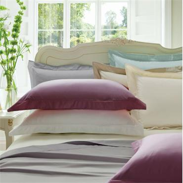 Dorma 300 Thread Sateen Platinum Pillowcase