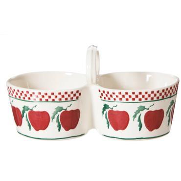 Double Dipper Apple Nicholas Mosse Pottery