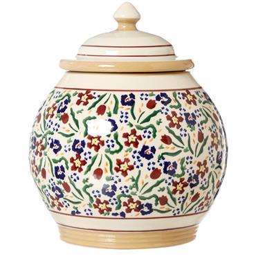 Cookie Jar Wild Flower Meadow Nicholas Mosse Pottery